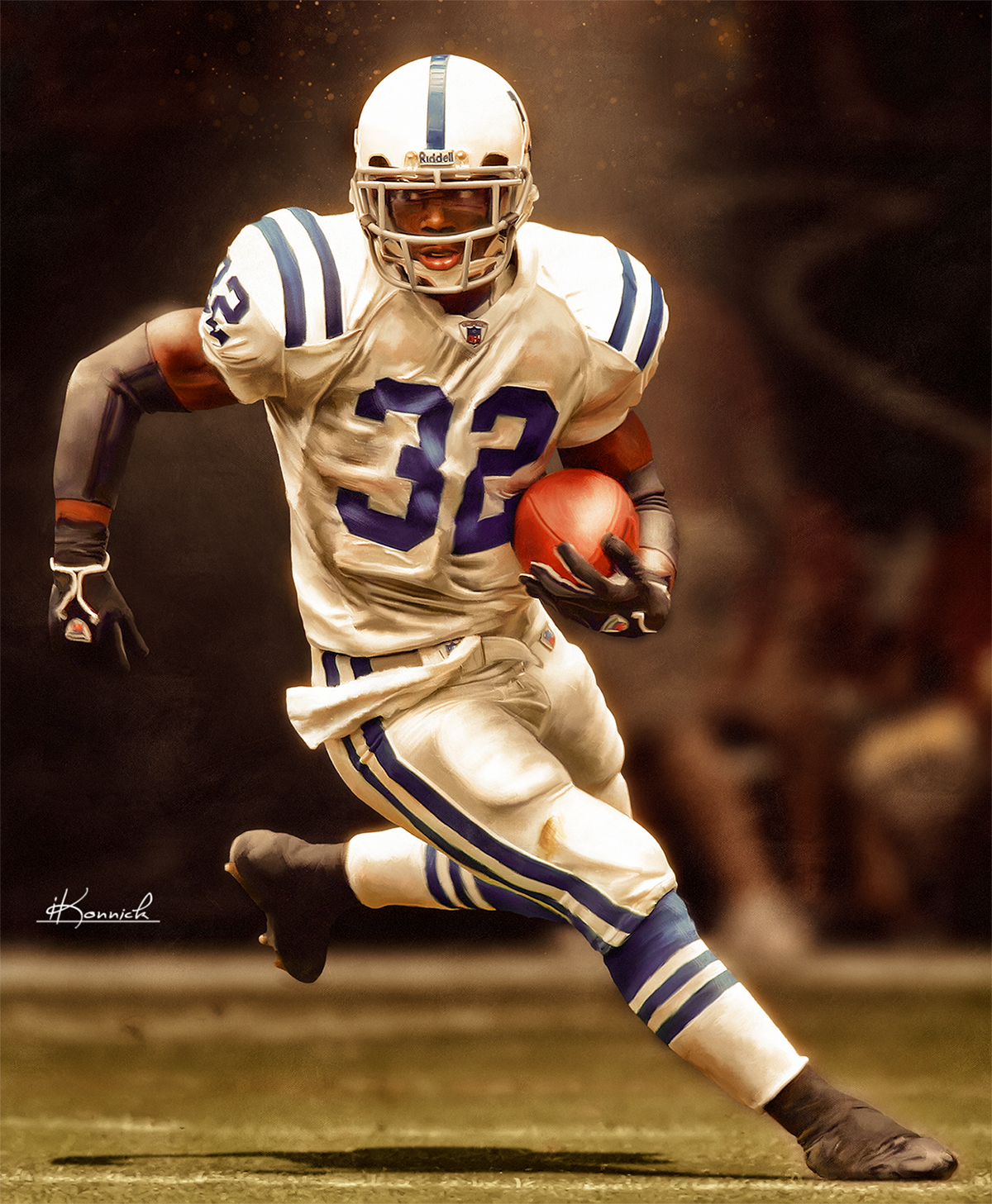 new products c6658 79d61 Edgerrin James Indianapolis Colts on Behance