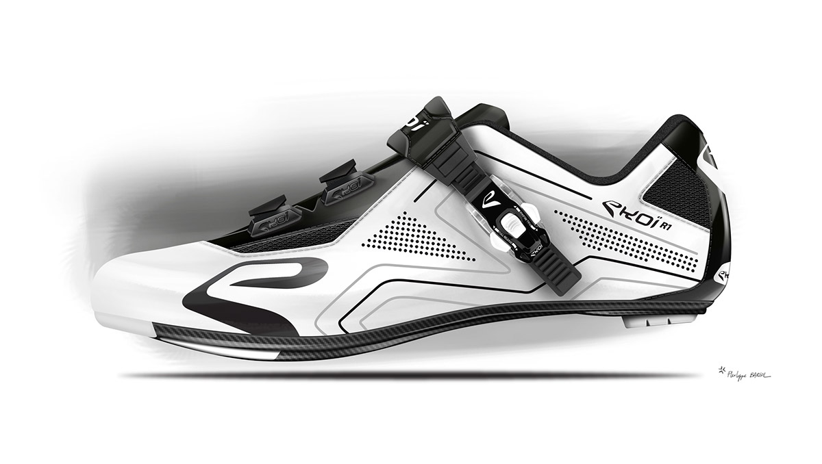 Cycling road shoes customizable