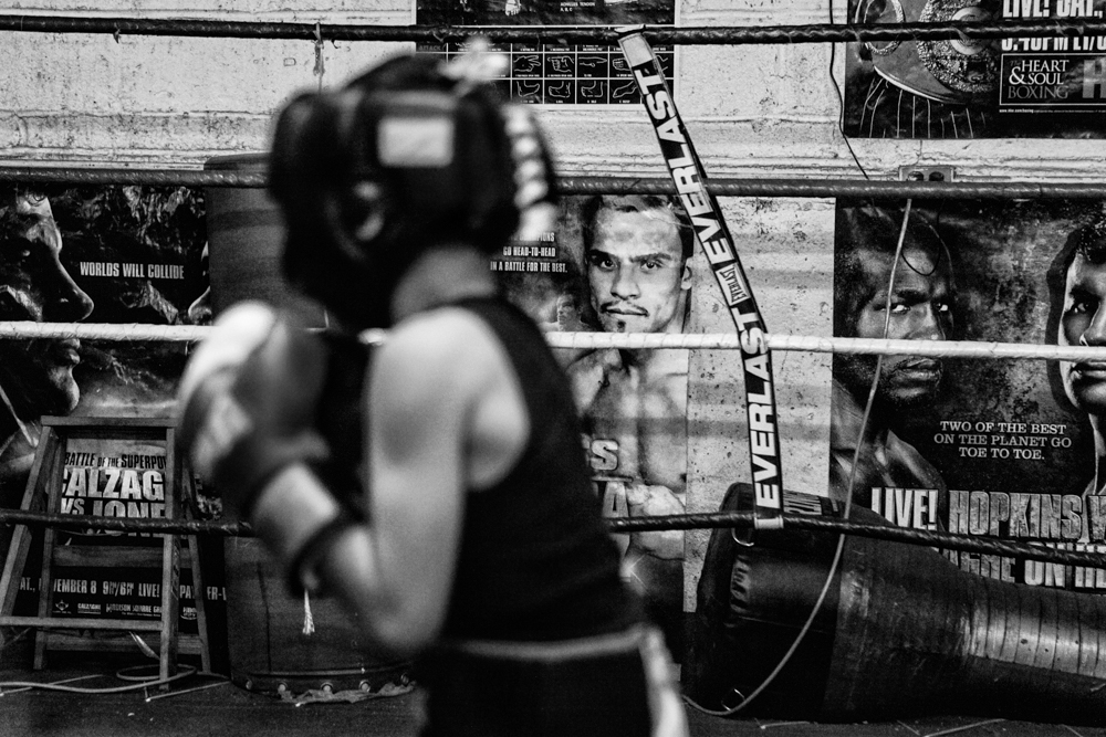 Park Hill Boxing Club - Killa Hill on Behance