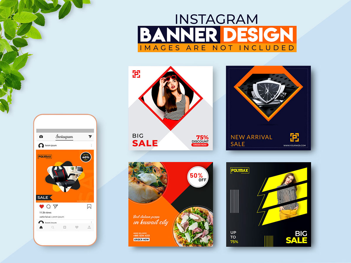 Instagram Banner Design On Sdm Creative Collective