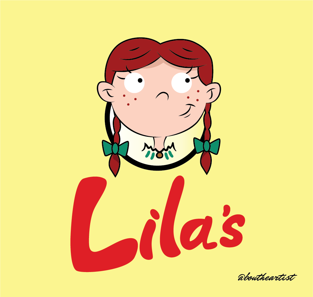 If Lila from 'Hey Arnold' was Wendy on Behance