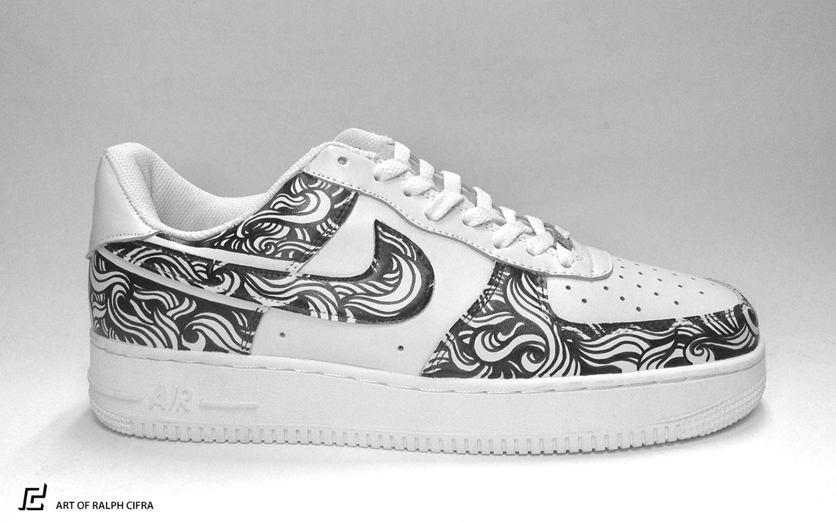 Nike Air Force 1 Custom Design On Behance