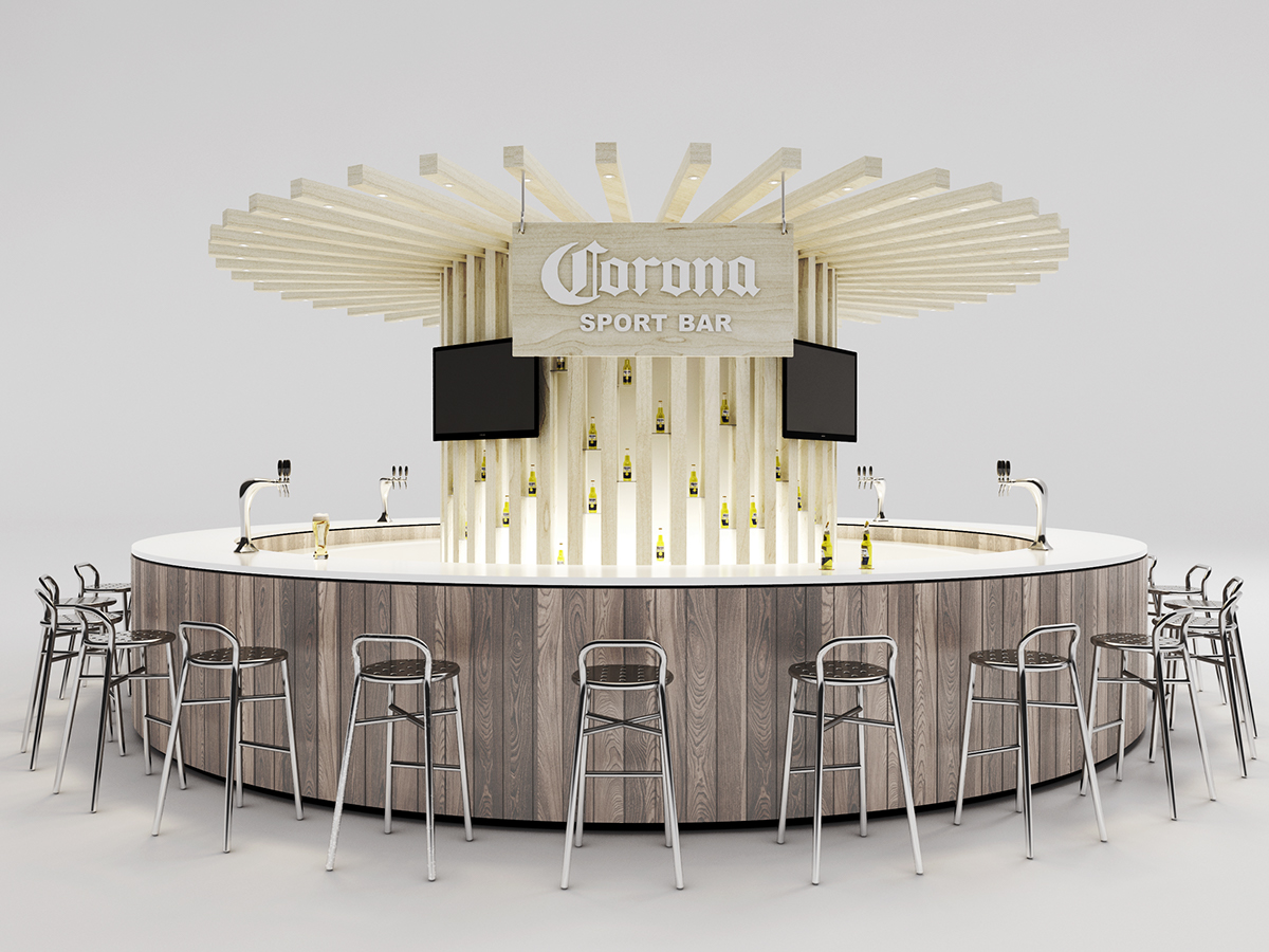 Corona   Bar And Store On Behance