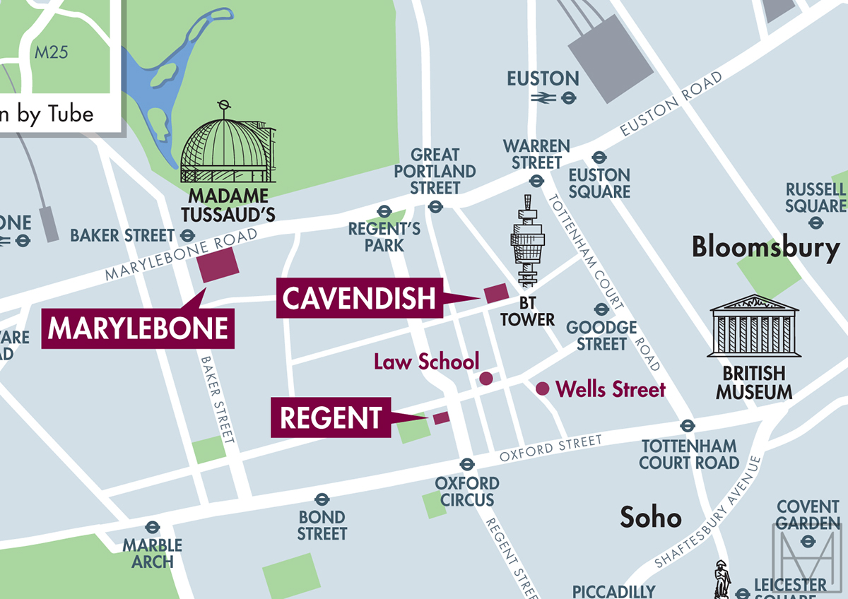 university of london map Campus Map For The University Of Westminster On Behance