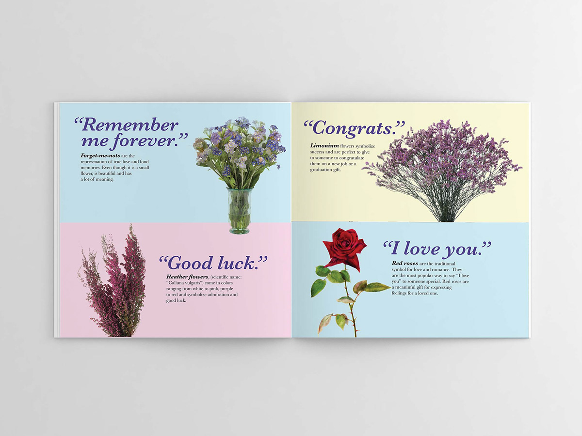 Flower Book On Behance