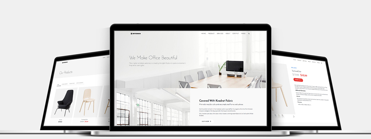 Interior – Furniture and Interior Bootstrap HTML Theme on Student Show