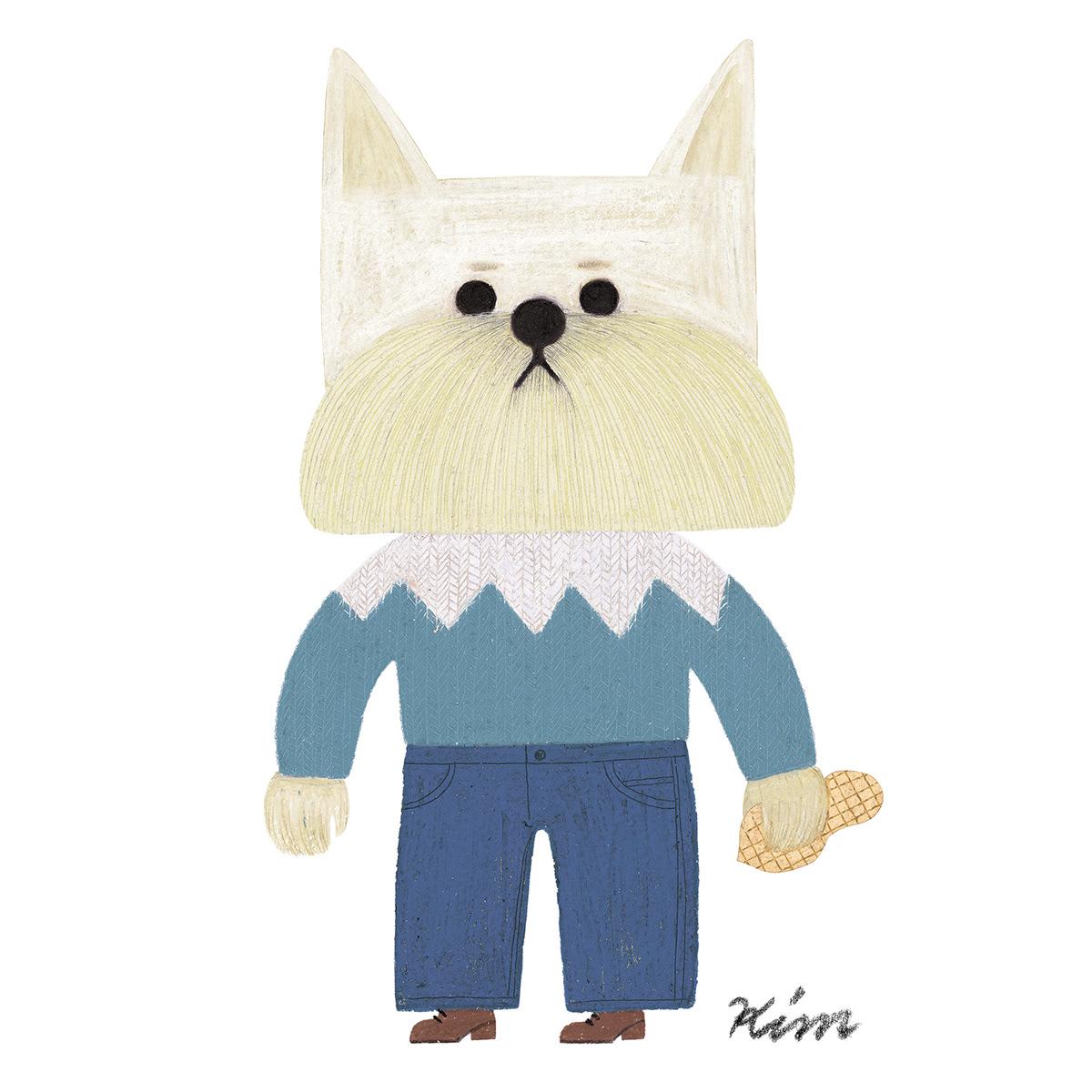 dog,Poodle,kids wear,Collaboration,animal