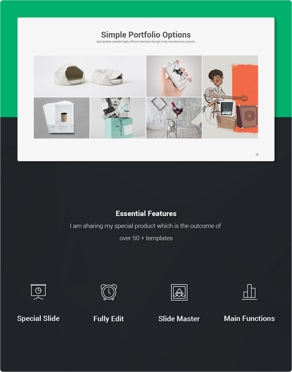 Lecco Creative Keynote Theme