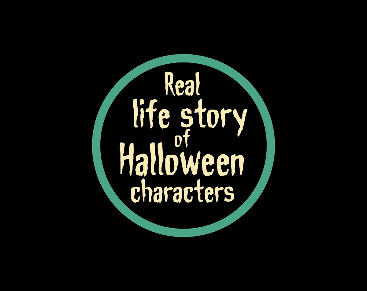 real life story of halloween characters on behance