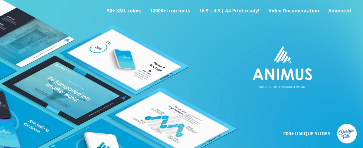 Massive X Presentation Template v.5.2 Fully Animated - 19