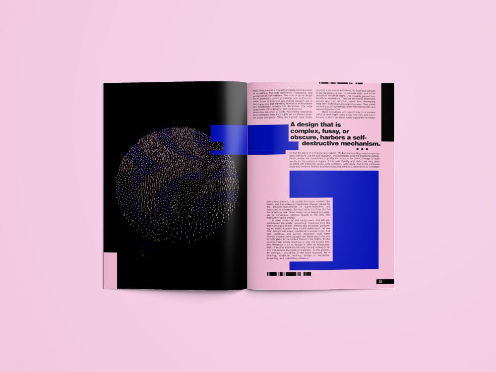print magazine design gif spread spread design editorial spread editorial experimental experimental design