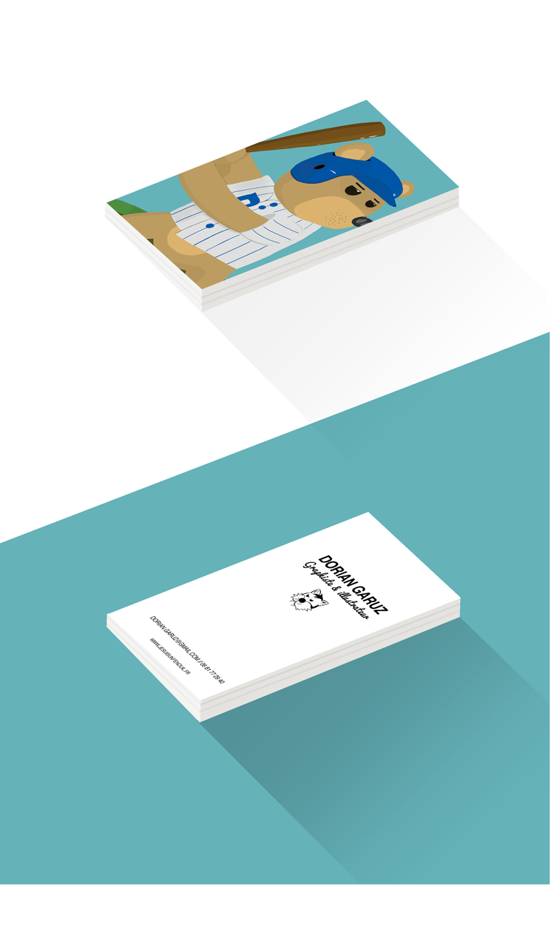 Projet Carte De Visite On Behance