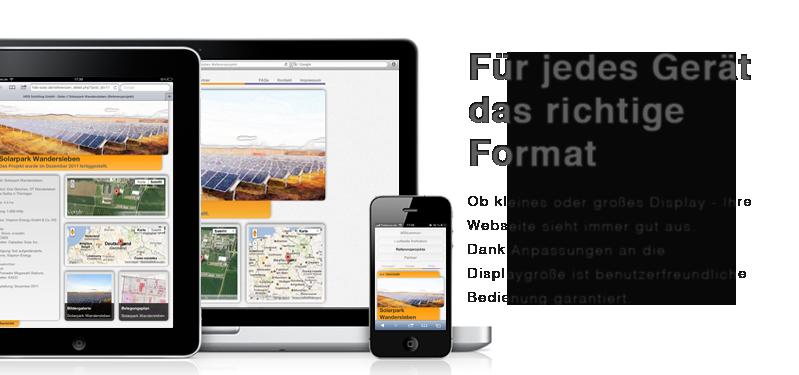 solar Website HDS Dynamic content html5 cms Content Management System