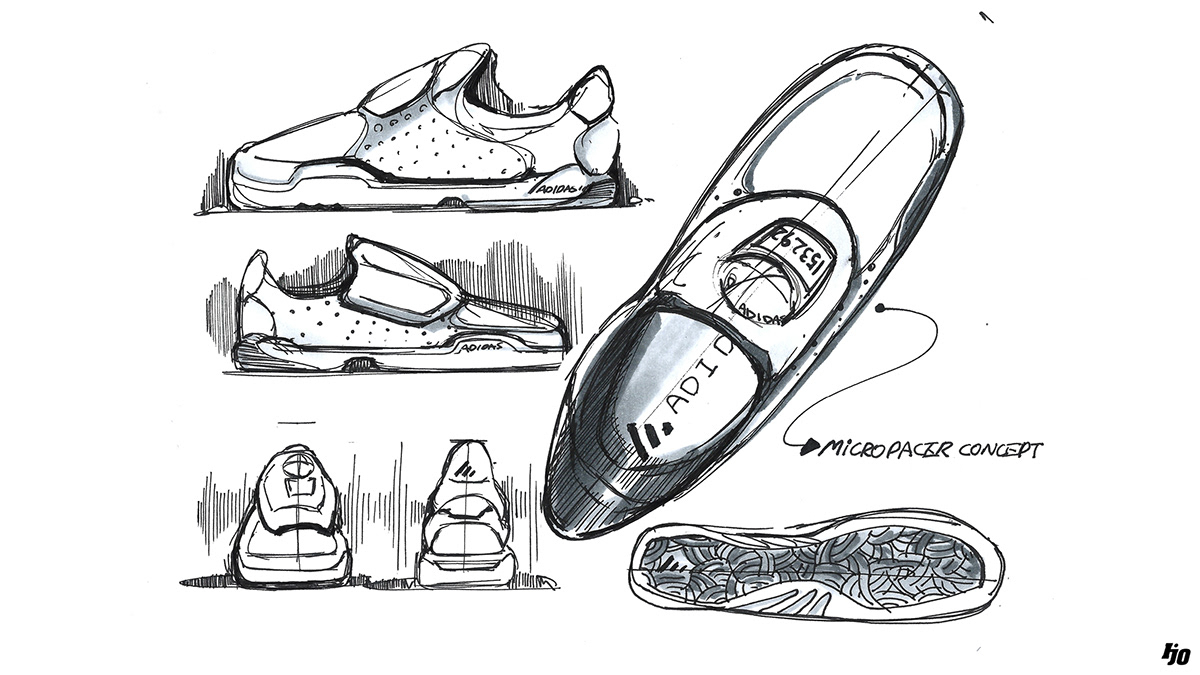 Industrial design sketches shoes Drawing Assorted Sketches Footwear Industrial Design Designskolen Kolding Assorted Sketches Footwear On Ccs Portfolios