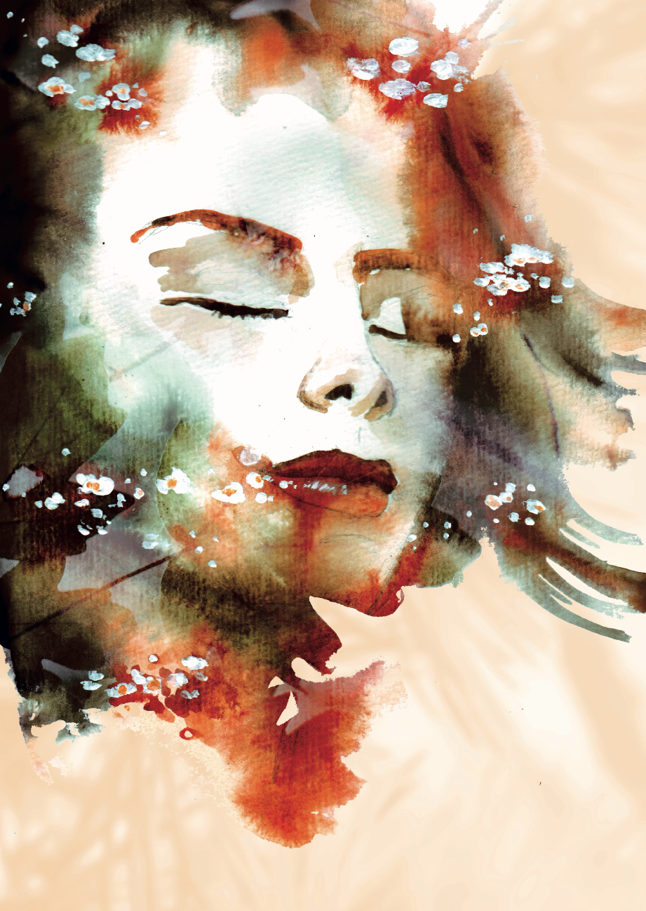 Portraits Watercolor Photography