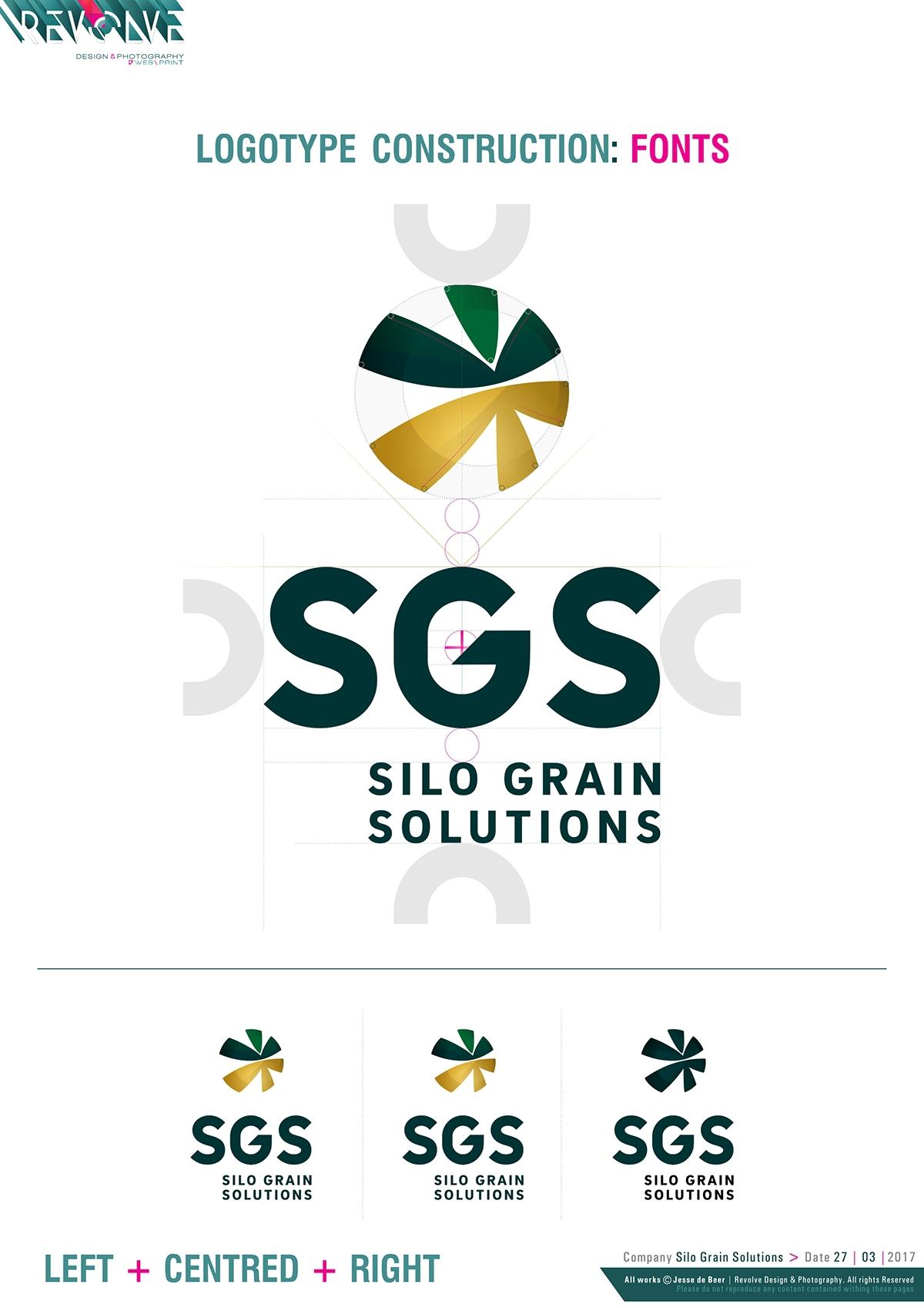 Silo Grain Solutions   SGS on Behance