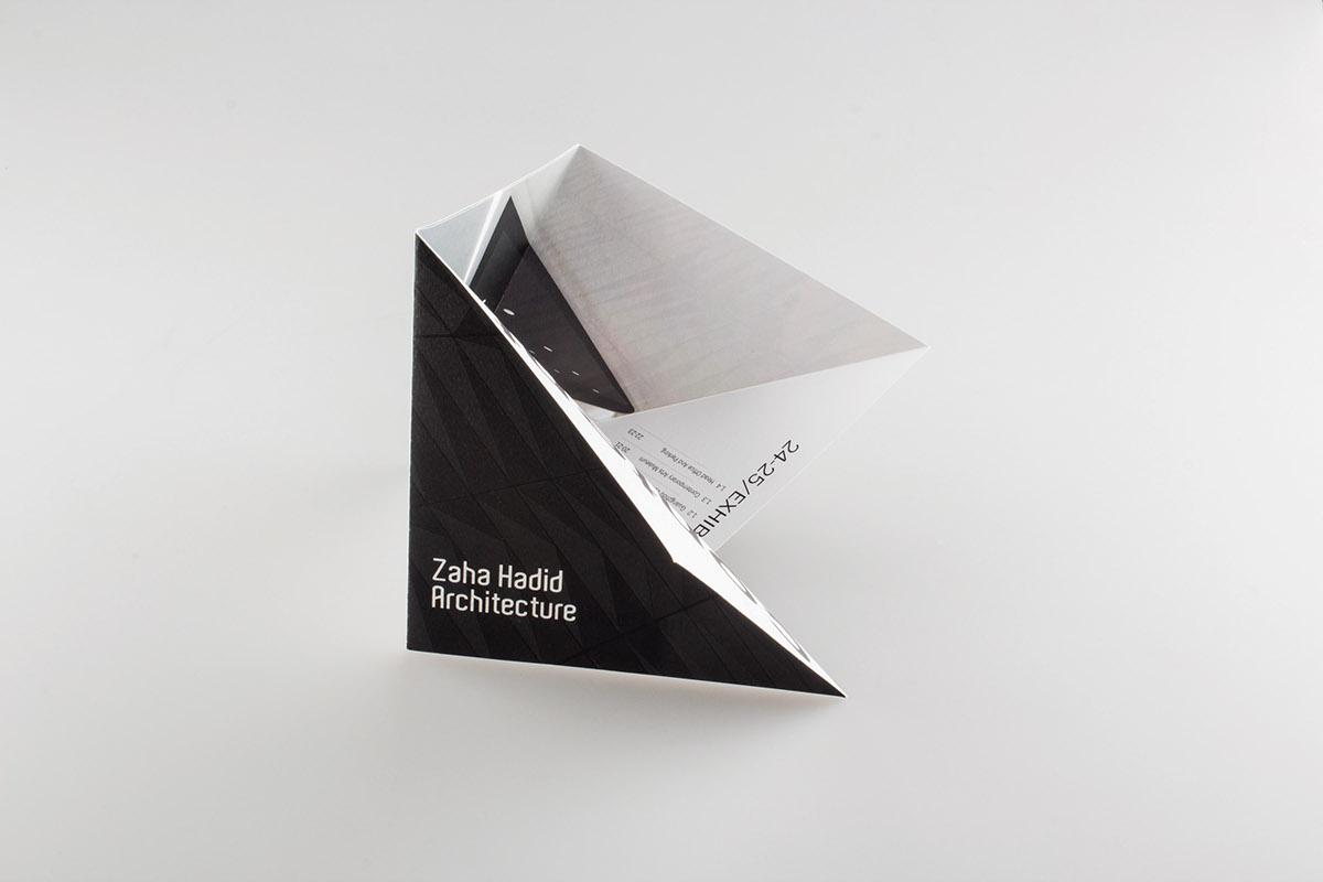 Zaha Hadid Brochure On Behance