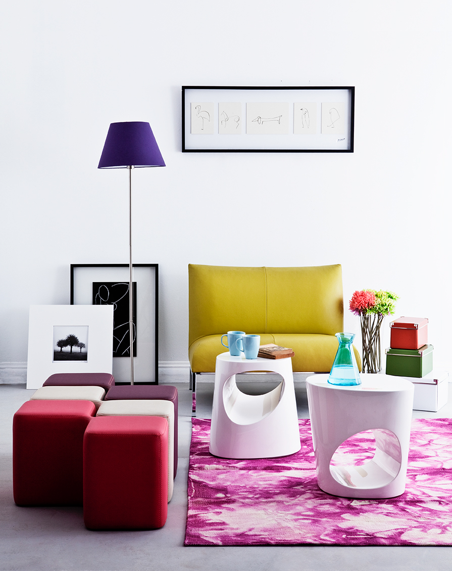 magazines Interior furniture light retouch colors still life product Coach table candel room house provance pop