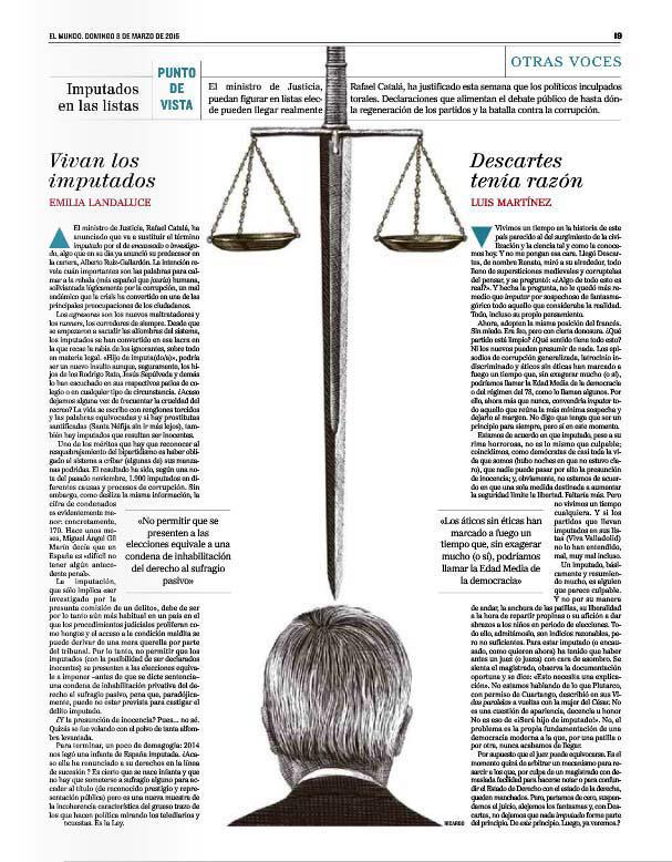 editorial magazine el mundo newspaper