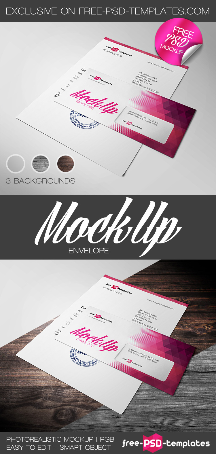 Free envelope mock up in psd on behance this very beautiful and elegant free envelope mock up is the absolute exclusive template from free psd templates spiritdancerdesigns Choice Image