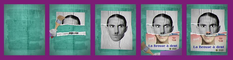 Beatles collage craft Frank Zappa Freddie Mercury janis joplin motiondesign rock'n'roll Ron Maël Santana