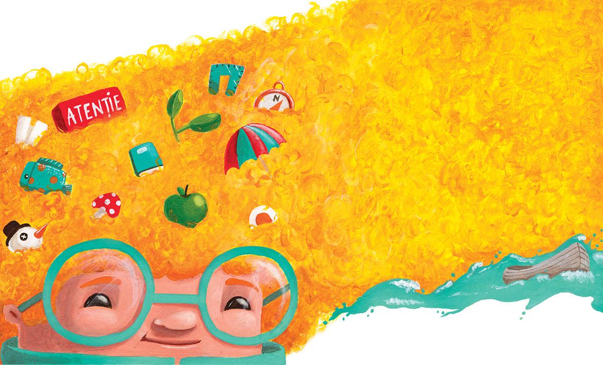 Fabulafia Kids Magazine -Editorial Illustrations on Wacom