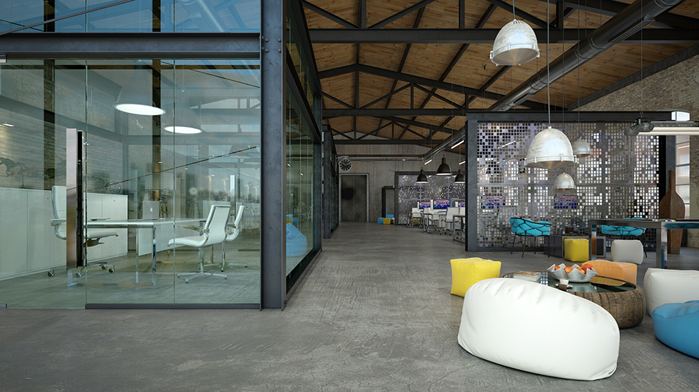 Loft Office Design. Loft Office Design A