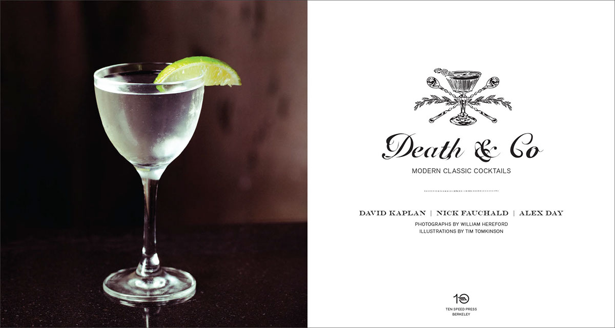 Death & Co: Modern Classic Cocktails on Behance