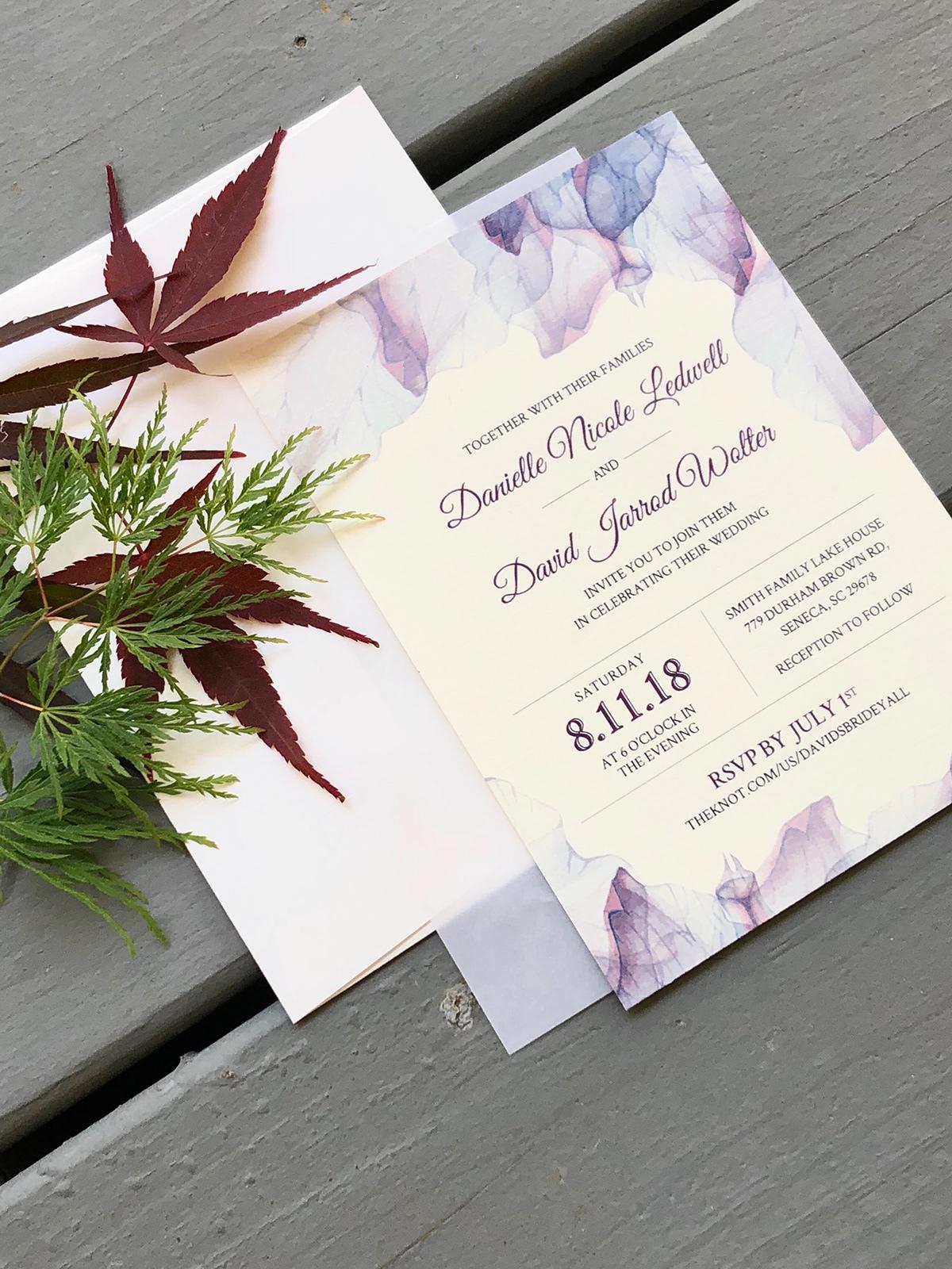 Summer Wedding Invitations on Behance
