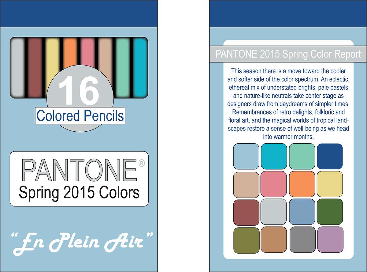 Pantone Colored Pencils Product Design on Behance