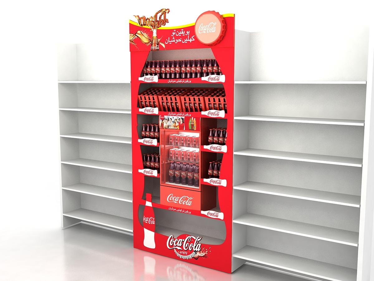Coke Shelf Dressing On Behance