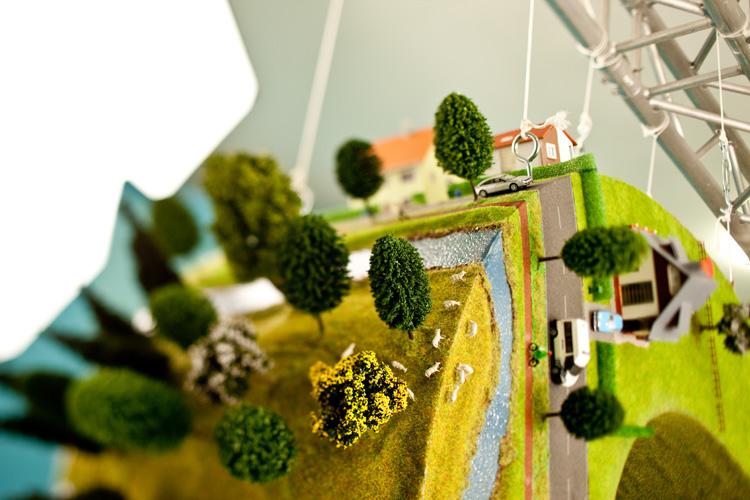 wood scale model Tree  grass river city belgium gent Ghent België Cars Miniature maquette ship train mountain