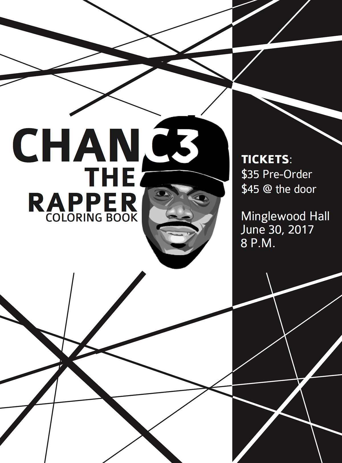 a18806d893ff Chance the Rapper Advertisement on Behance