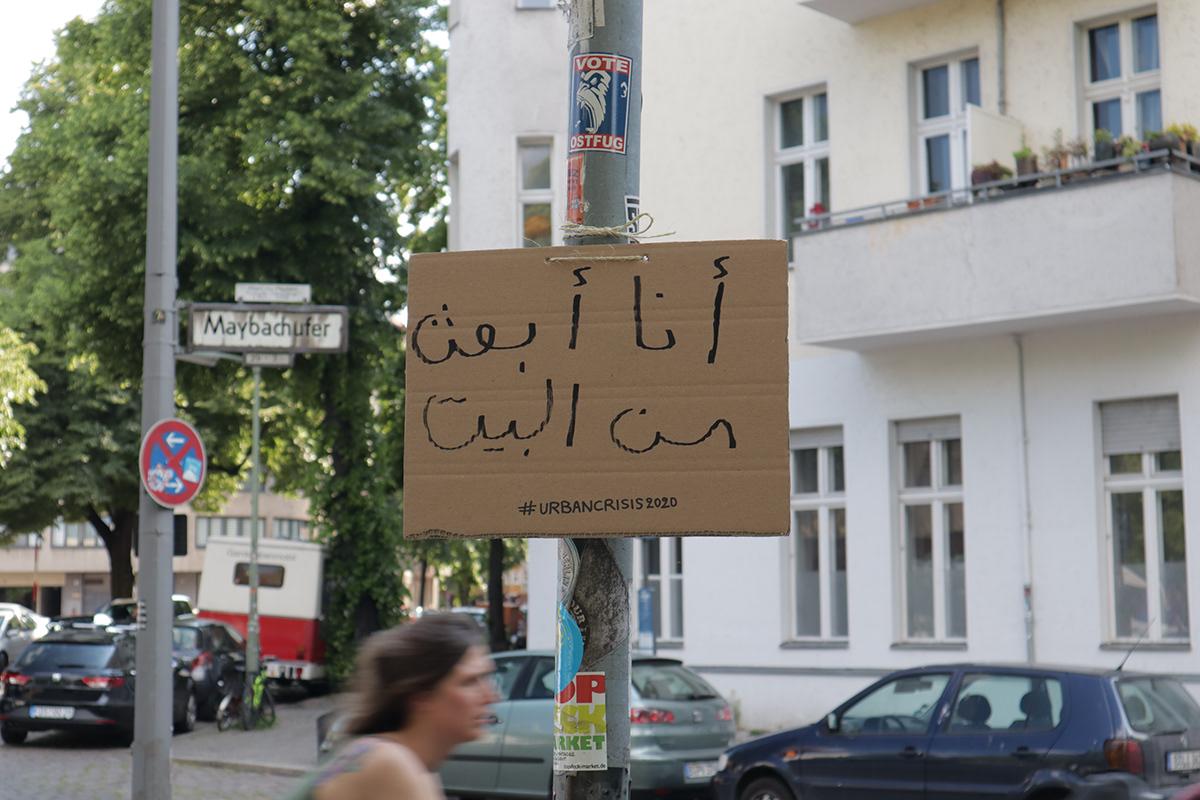 the krank Exhibition  berlin Performance urban art housing crisis Art Installation Berlin art