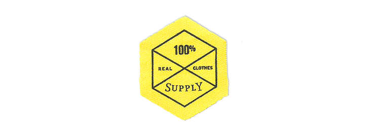clothes Clothing Label identity patch cotton