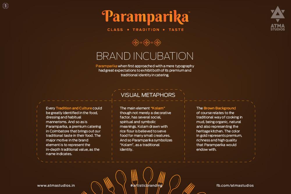Paramparika Wedding Planning Caterer Branding On Behance