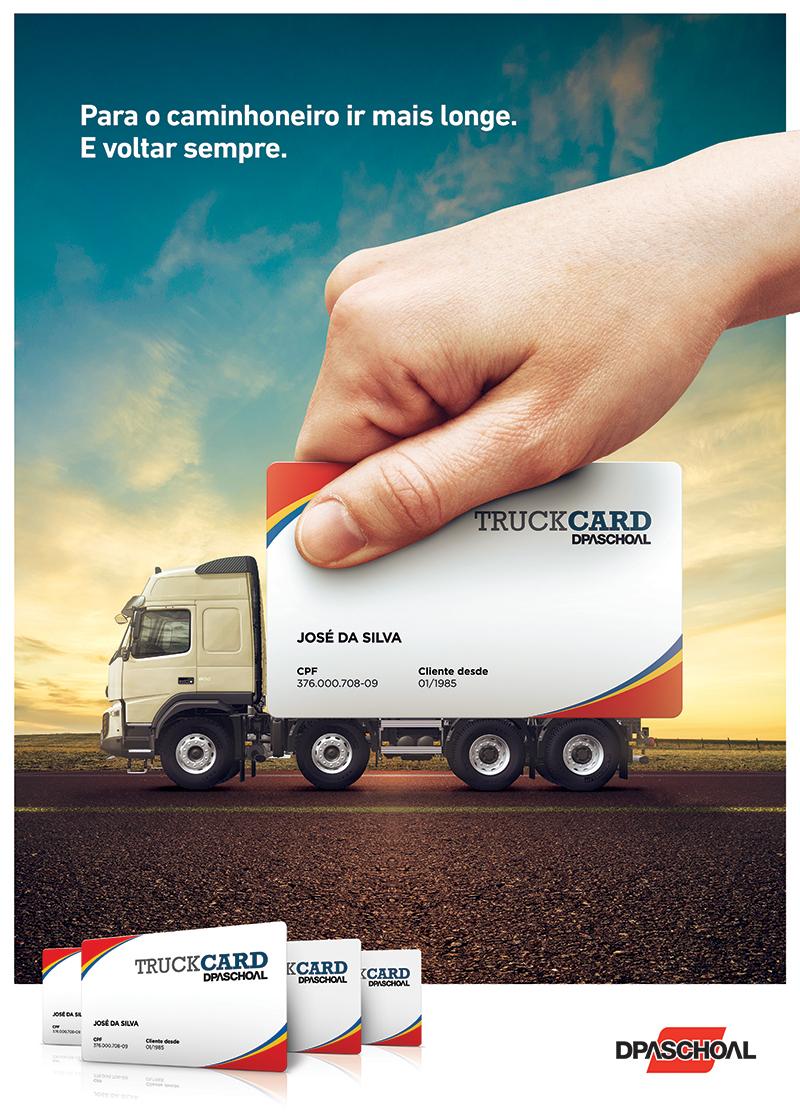 truckcard  dpaschoal on behance