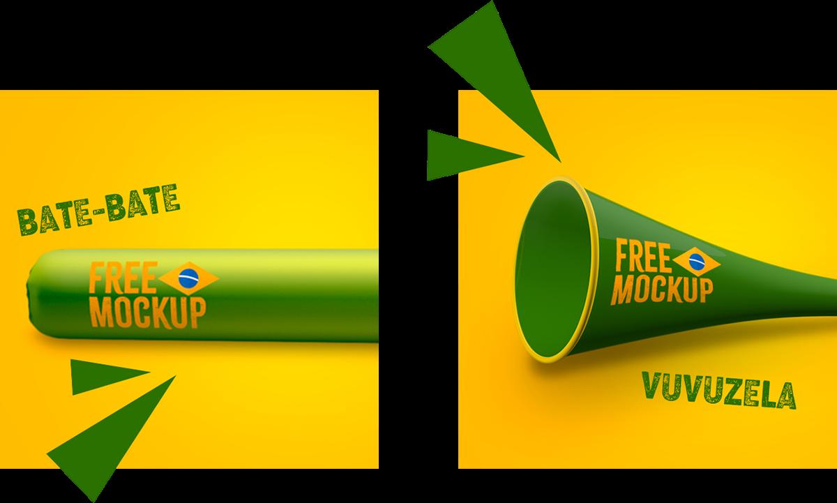 copa do mundo Neymar world cup free mockup  social media freebies Mockup soccer futebol Brasil