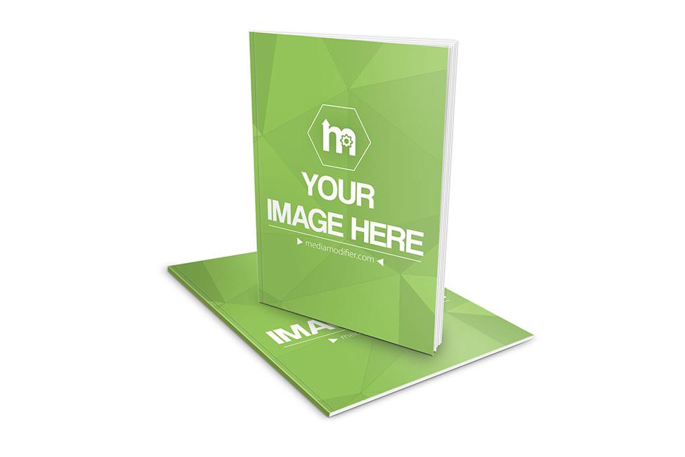 slim book magazine cover mockup generator template psd on behance