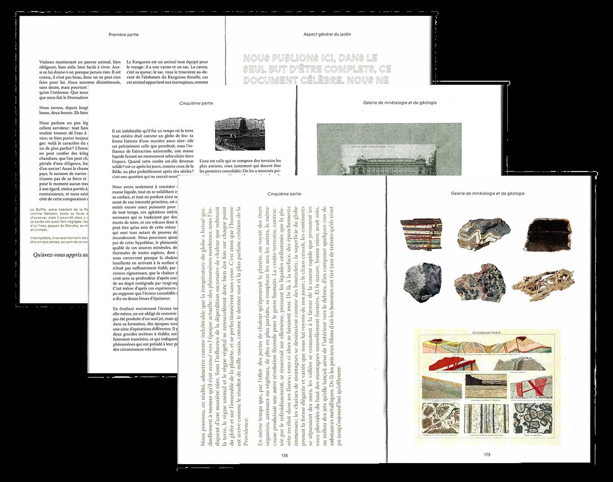Le Jardin des plantes – Editorial design on Behance