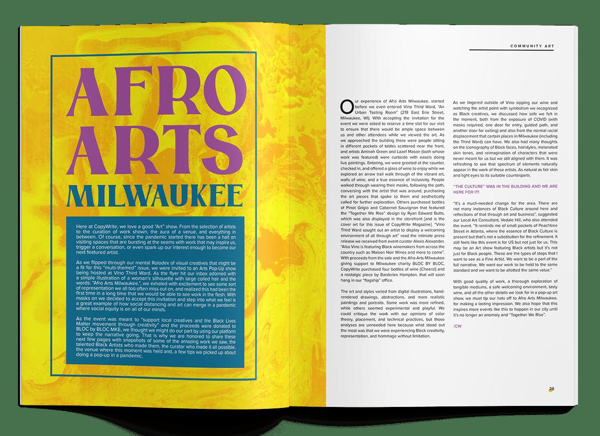 Adobe Portfolio digital Layout Layout Design Magazine design print
