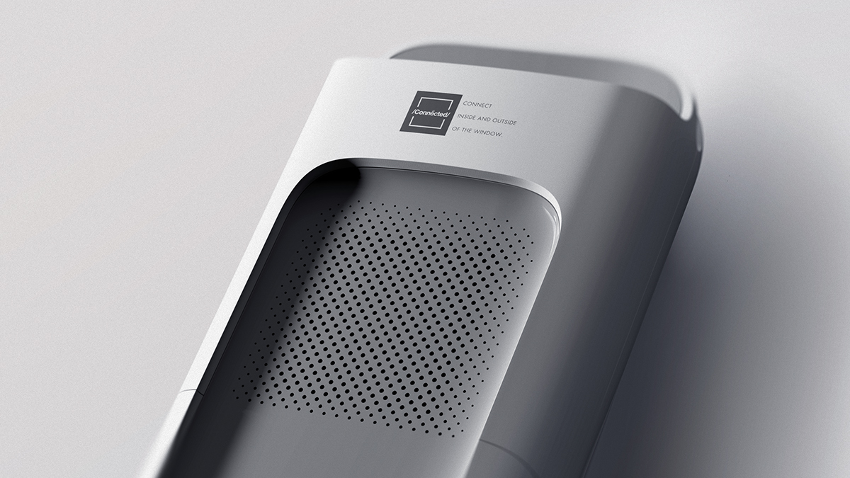 Industrial Design: Connected Air Purifier