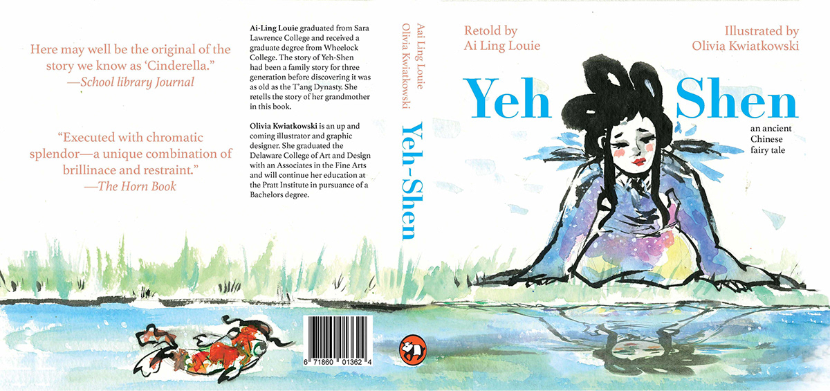 Yeh Shen Childrens Book on Pratt Portfolios