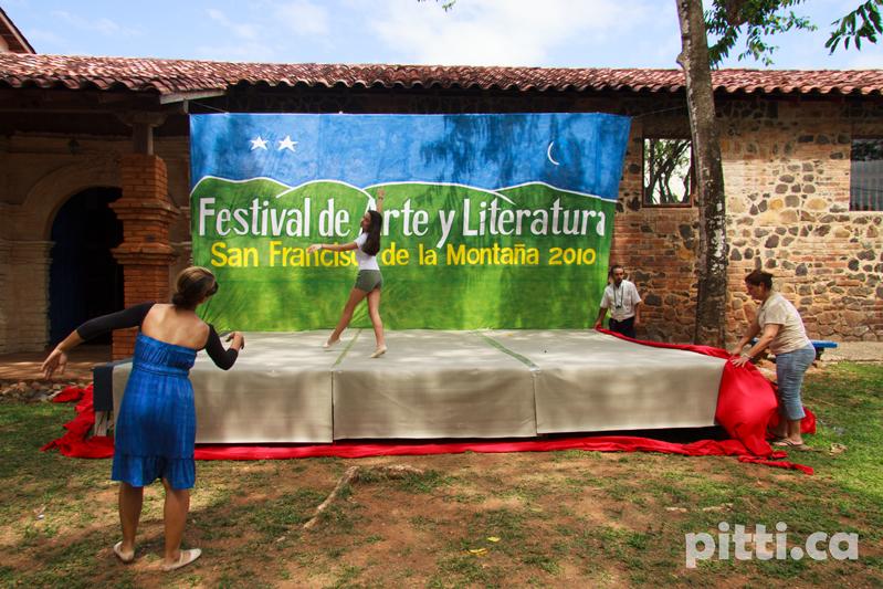 Adobe Portfolio festival Veraguas panama Caribe theater  music