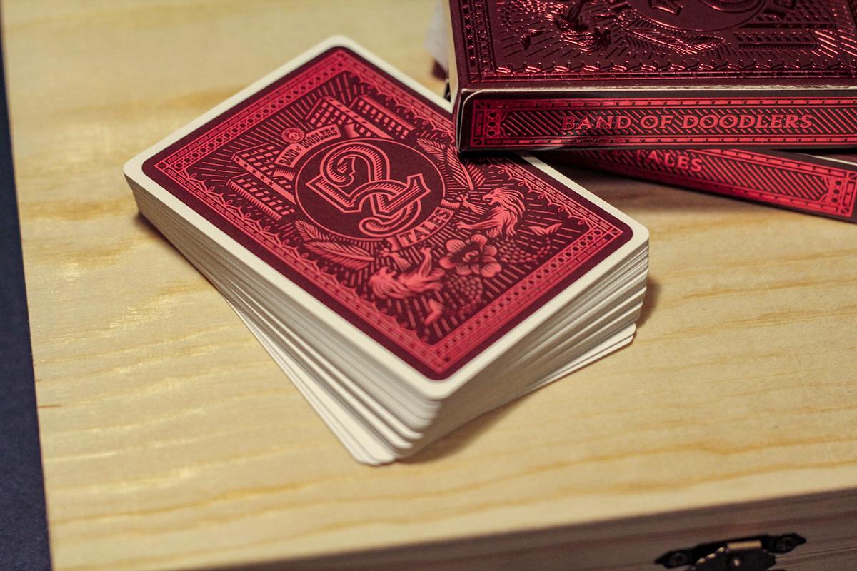 playing cards Poker ILLUSTRATION  graphic design branding  art direction ArtDirection