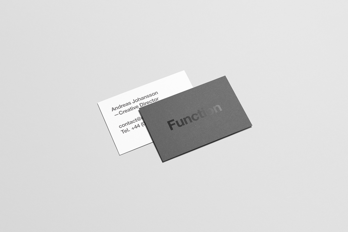 Business Card Mock-Up on Behance