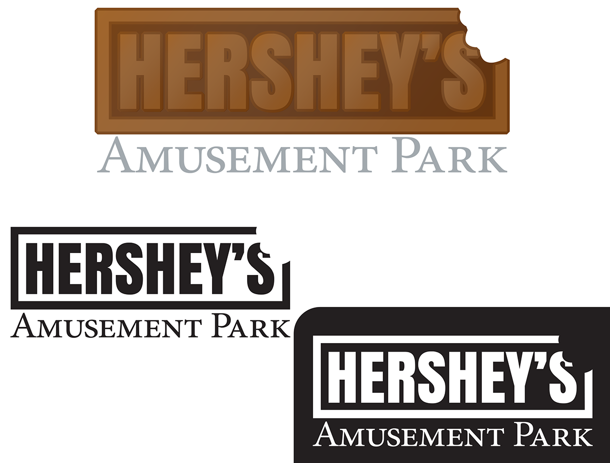 Hershey Park Rebranding And Way Finding On Behance