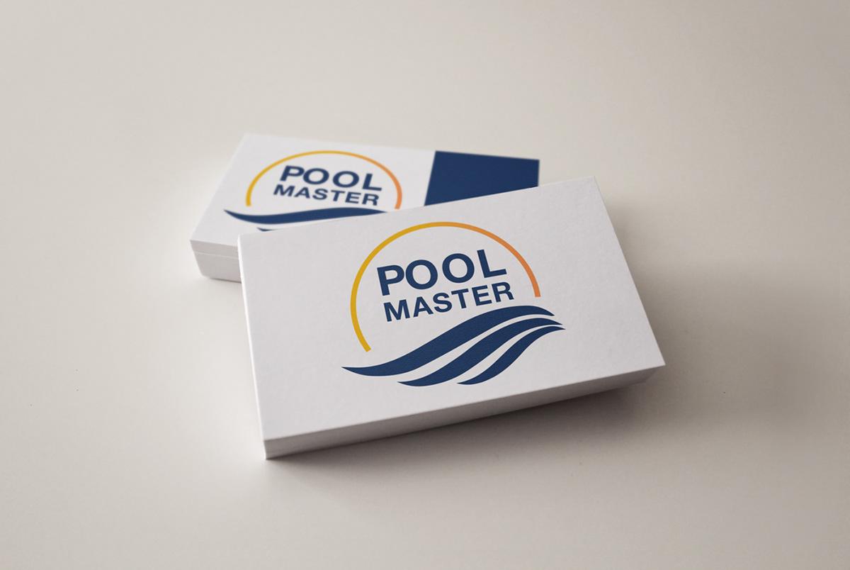 Pool Master Logo Design and Corporate Identity.