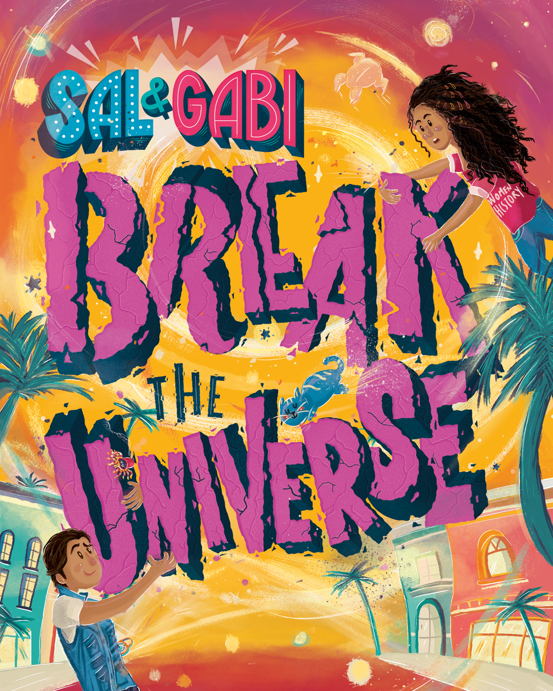 Image result for sal and gabi break the universe cover