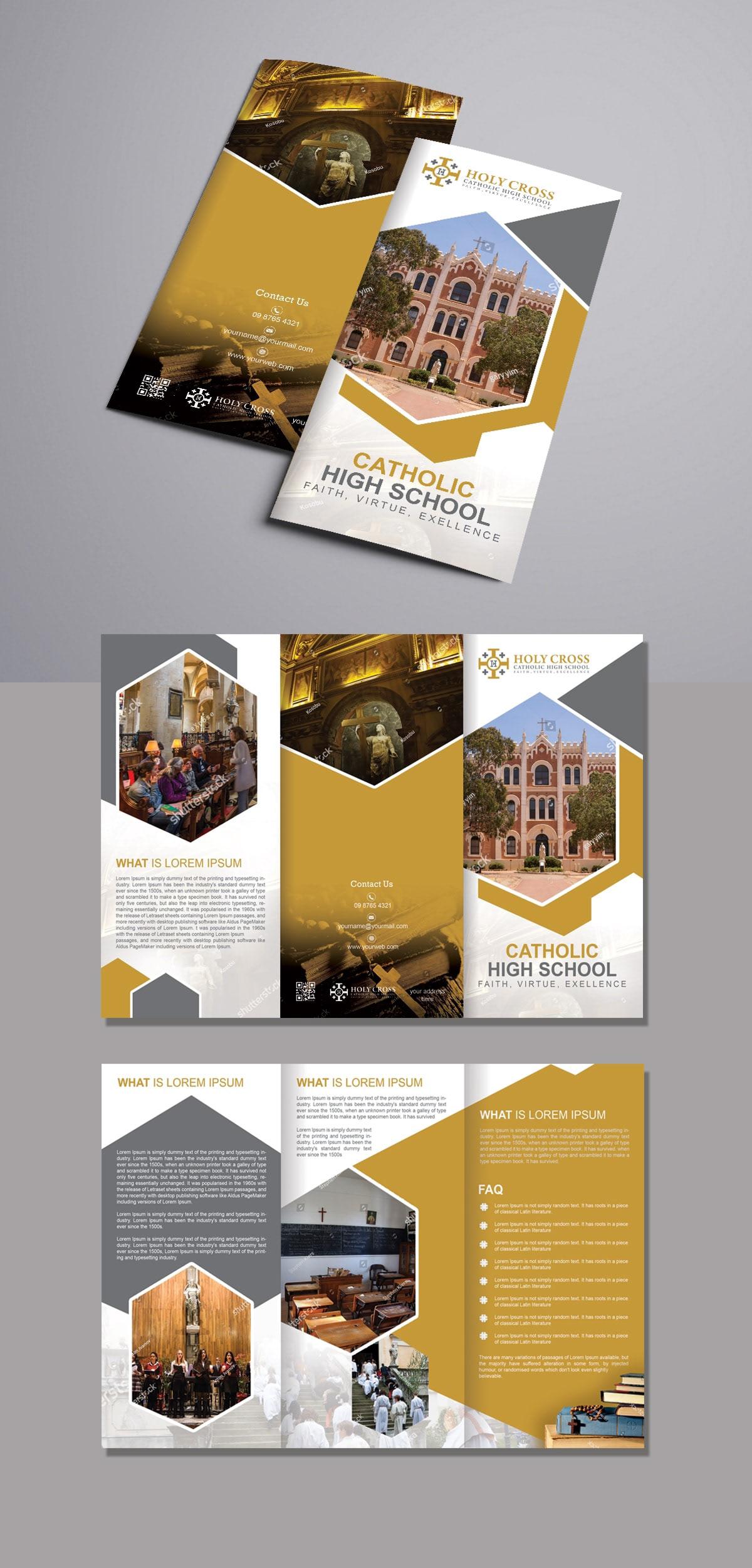 brochure design graphics design IT brochure real estate brochure Company Brochure Design brochure
